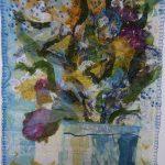 Floral Still Life by Karen Kroeker